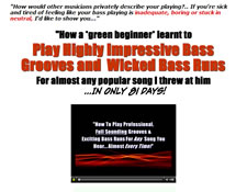 Bass Guitar Secrets website