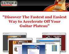 Elmore Music's Speed Learning Guitar System website