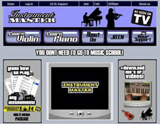 Instrument Master website