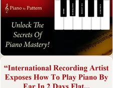 Piano by Pattern website