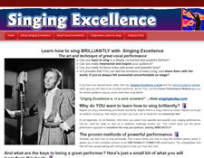 Singing Excellence website