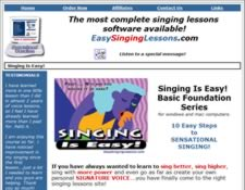 Singing Is Easy website